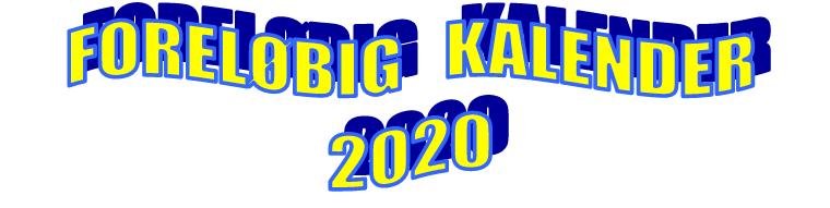 LOMS kalender 2020