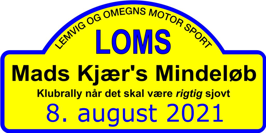 Mads Kjær's Mindeløb den 8. august 2021