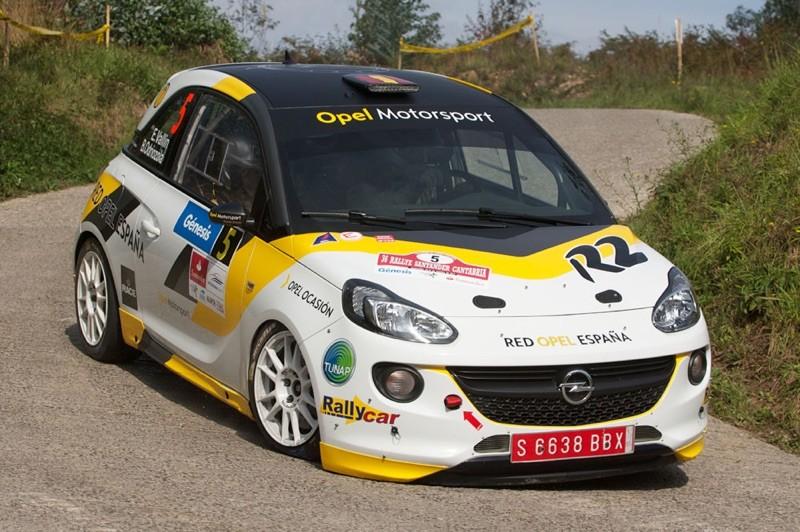 Opel Adam til start i Mindeløbet